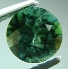 natural unheated green sapphire