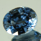 bright blue spinel like sapphire