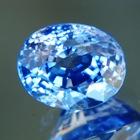 Deep sky blue Ceylon sapphire