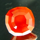 biggest precision cut hessonite on the web