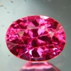 Deep neon pink Mahenge spinel