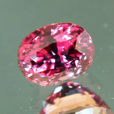 Natural Untreated Ruby with orange tint