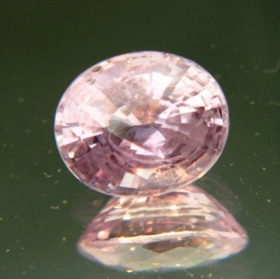 Lavender pink Ceylon sapphire