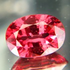 Deep orange pink Mahenge spinel