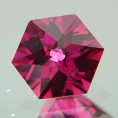 german cut rhodolite without treatments
