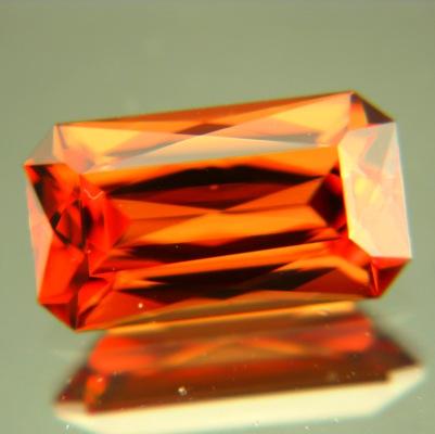 Orange copper Vietnamese Zircon