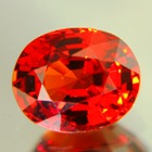 Deep orange Spessartite garnet