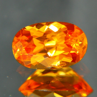 1+ carat mandarine garnet loliondo quality clean
