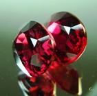 natural pair rubies