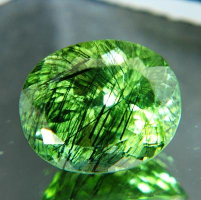 12 carat unheated kashmir peridot