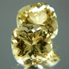 Butter yellow Ceylon scapolite