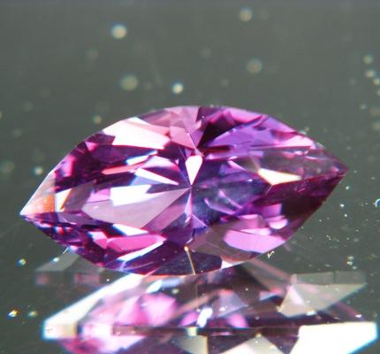 Rich mulberry purple Ceylon sapphire
