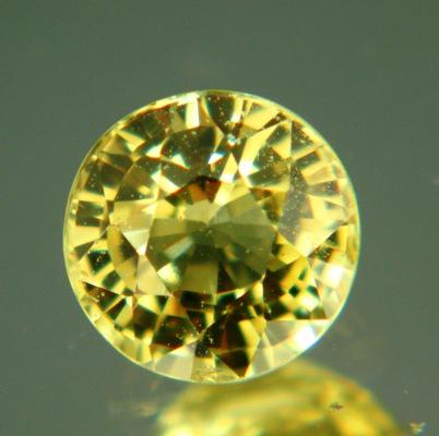 Lemon yellow African sapphire