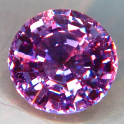 Rich purplish violet Ceylon sapphire