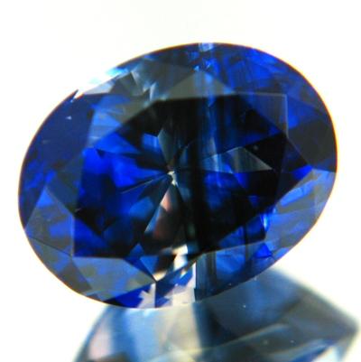 Kashmir midnight sky blue Ceylon sapphire