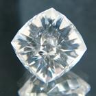 precision cut tinted white danburite 16 carat