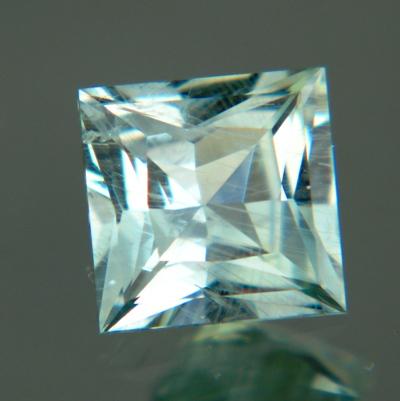 Silky blue green Montana sapphire