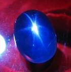 fine blue star sapphire untreated