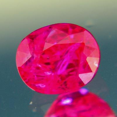 Untreated ruby from Tajikistan with GIA origin report