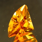 7 carat unheated citrine