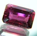 Mild aster purple Ceylon tourmaline