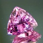 Electric purplish pink Mozambique tourmaline