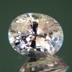 Hint of peach Ceylon sapphire