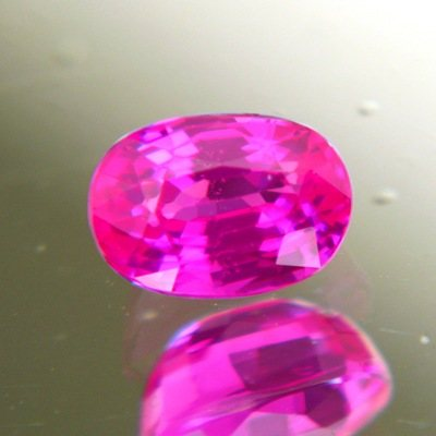 Neon PInk-red Vietnamese Ruby above one carat