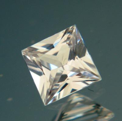 Tinted white Ceylon sapphire
