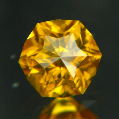 Golden yellow Ceylon Zircon.